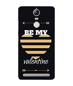Lenovo K5 Note, Lenovo Vibe K5 Note Pro Back Cover Be My Valentine With Heart Design From FUSON