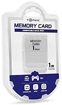 Tomee 1MB Memory Card for Sony PlayStation