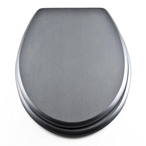 Georges WC-Sitz mit Absenkautomatik in verschiedenen Designs (Grau)