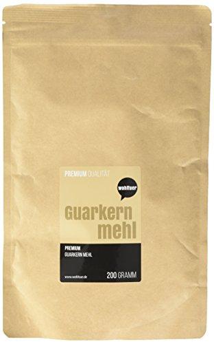 Wohltuer Guarkernmehl Konventionell, 1er Pack (1 x 200 g) (Essen Leben Bio-perfekte)