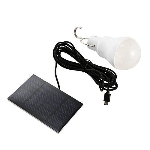 Lanlan Solar LED Licht white-1tragbar 15W 130LM Led-br40