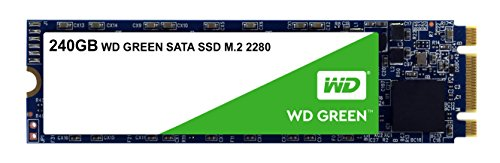 WD Green SSD 240 GB, interne M.2 2280 Festplatte bis zu 545 MB/s Lesegeschwindigkeit; SSD (Solid State Drive) - SATA 6 Gbit/s