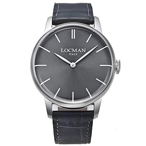 orologio solo tempo uomo Locman 1960 casual cod. 0251V07-00GYNKPA
