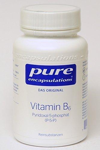 Pure Vitamin B6 (Pyridoxal-5-phosphat) 180 Kapseln - B6 Kapseln