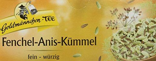 Goldmännchen Tee Fenchel-Anis-Kümmel, 50 g