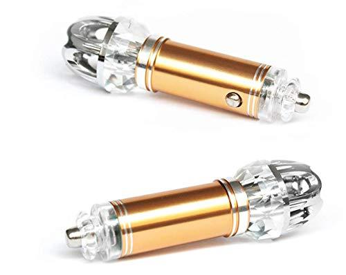 LKY Auto purificatore d' Aria, Deodorante per Auto e purificatore d' Aria a ioni per Rimuovere la Polvere, polline, Fumo e Cattivi odori-Disponibile per la Tua Auto o Cam