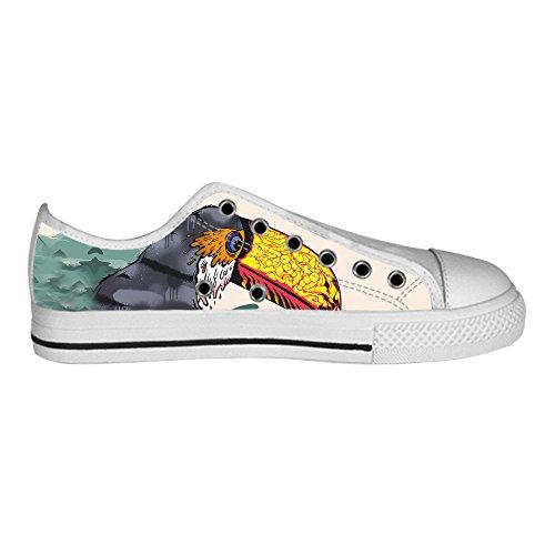 Dalliy Toucan Bird Cartoon Men's Canvas shoes Schuhe Lace-up High-top Sneakers Segeltuchschuhe Leinwand-Schuh-Turnschuhe C