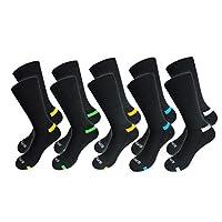 BestSale247 8 of 12 paar thermo-sokken voor dames en heren, uniseks, sportsokken, hardloopsokken.