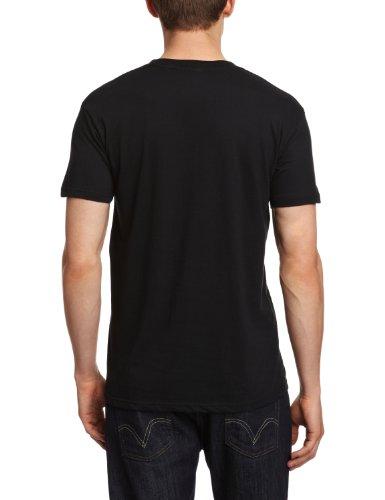 Bravado Herren, T-Shirt, Schwarz