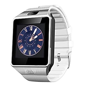 Funnyrunstore Smart Watch Dz09 Gold Silver Smartwatch Relojes para iOS para Android Sim Card Camera Camera Watch 9