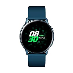 TELEFONÍA, SmartWatch, SmartWatch, Samsung Galaxy Watch Active Bt GreenEspecificacionesTamaño Pantalla1,10 ''TouchscreenSíCorrea DesmontableSíDuración de la batería84 hCapacidad bateria230 mAh