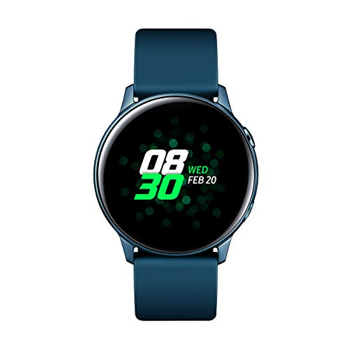 "Samsung Galaxy Watch Active – Smartwatch (1,1"",40mm, Tizen, 768 MB de RAM, Memoria Interna de 4 GB), Color verde – Versión Española"