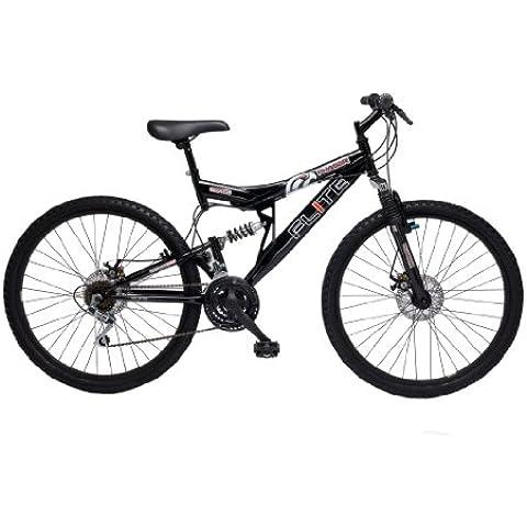 Flite FL053 - Bicicleta de montaña con doble suspensión (rueda 26 pulgadas, marco 18 pulgadas), versión importada de Reino