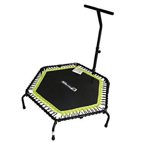 GXY Trampolin Erwachsenen-Innentrampolin Fettreduzierung im Haushalt Faltbares Trampolin Kann 200 kg tragen (Color : Black, Size : 139.5 * 30 * 110)