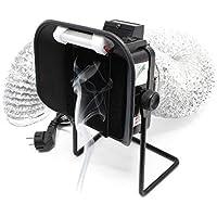 AOYUE 486+ aspirador humos soldadura de mesa luz LED soldar protección gas vapor extracción tóxicos