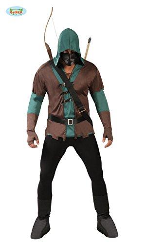 KOSTÜM - BOGENSCHÜTZE - Größe 52-54 (Halloween Kostüme Wald)