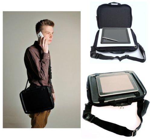 Trabasack Mini - Tablet Tasche und Lapdesk - Schutzhülle für iPad Android Notebook Netbook