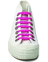 Lot de 14 lacets élastiques Shoeps rose