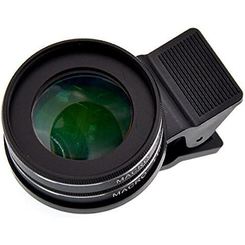 37mm Profesión universal del teléfono HD Lente Macro y 30X 15X SLR Doble Tipo Lente Macro para la variedad de teléfonos lente macro-dobles,