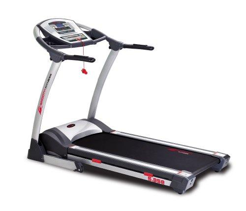 Smooth Fitness 5.35e Laufband - 2,25 PS, 50x140cm Lauffläche, 1-18 km/h QuickChangeTM, 36 Programme