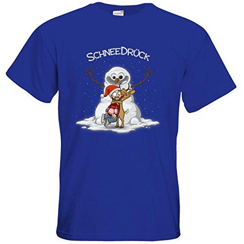 getshirts - Gronkh Official Merchandising - T-Shirt - Schneedrueck Royal Blue
