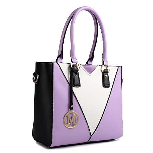 Miss Lulu - Sacchetto donna Purple