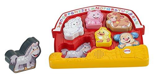 Mattel Fisher-Price CGM70 - Lernspaß Bauernhof Puzzle Puzzles Fisher Price