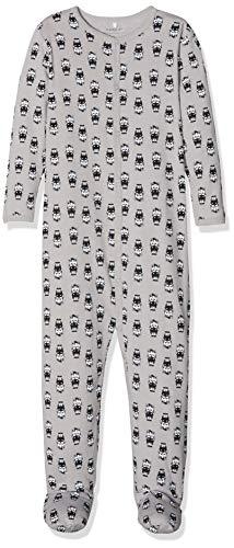 Name it nbnnightsuit 1p w/f pigiama, multicolore alloy, 74 unisex-bimbi