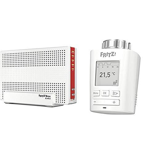 able WLAN AC + N Router + DECT 301 (Intelligenter Heizkörperregler für das Heimnetz, für alle gängigen Heizkörperventile und FRITZ!Box mit DECT-Basis, FRITZ!OS ab Version 6.83) ()