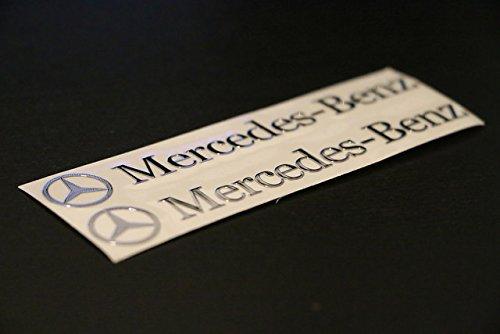 scritta-stemma-logo-adesivo-mercedes-benz-vetrofania-effetto-rilievo-cromato