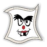 jeder-kann-basteln ♥ Sticker-Gesichter-zahnlos ♥ Kleiner Preis! Lustige Aufkleber (Augen, Nase, Mund) für Kinder (mittel)