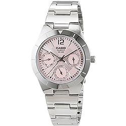 Reloj Casio para Mujer LTP-2069D-4AVEF de acero inoxidable