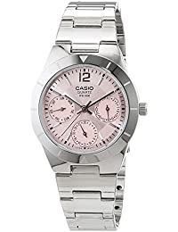 Casio Collection – Reloj Mujer Analógico con Correa de Acero Inoxidable – LTP-2069D-4AVEF
