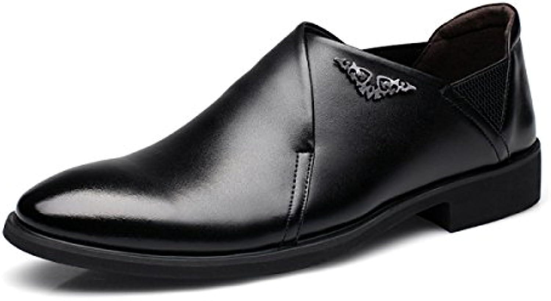 GTYMFH Uomini Scarpe Decorazione In Metallo Sutura Per Auto Business Abiti Casual Scarpe Da Uomo | Alta Qualità  | Scolaro/Signora Scarpa