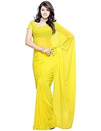 Fabulous Trendz Women's Chiffon Saree With Blouse Piece (Vira Saree)