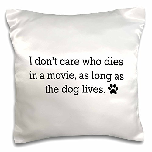 Tory Anne Collections Quotes - IM ONLY TALKING TO MY DOG TODAY - 16x16 inch Pillow Case (pc_221104_1)