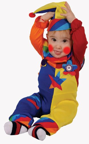 Dress Up America 586-T4 - Costume per travestimento da Clown, Bambini, 3-4 anni