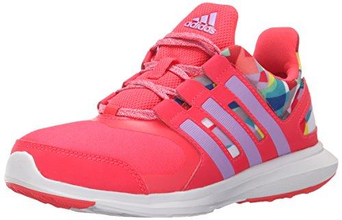 Adidas Performance Hyperfast 2.0 K Laufschuh (kleines Kind / big Kid) Shock Red/Shock Red/Glow Purple