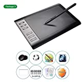 Blue-Yan Drawing Pen Tablet - Pen Pressure - Sensitivity Graphics Drawing Tablet 106