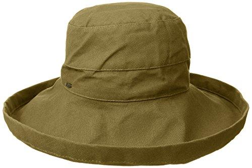 chapeau-dete-pliable-lanikai-olive-scala-taille-unique