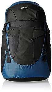 Zwart Black And Blue 35 Ltrs Free Size Backpack / Rucksack