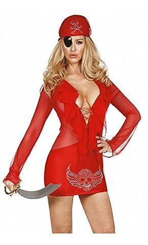 Mela Proibita - Robe - Femme - rouge - Taille unique