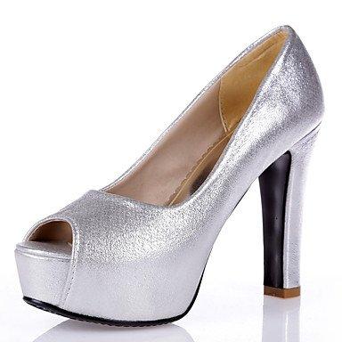 Les talons des femmes Printemps Été Automne Club synthétique chaussures de mariage et de soirée robe Talon bleu paillette Argent Or Rose Blue