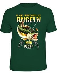 Original RAHMENLOS T-Shirt für Angler und Fischer: Es gibt Wichtigeres als Angeln, nur was?