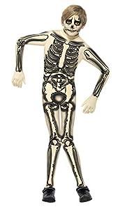 Smiffy de - 355 879 - Second Skin Disfraz Esqueleto - Gran Edad 10-12 años - de Halloween de Disfraces para niños