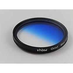 vhbw Filtre Universel gradué Couleur Bleue 72mm pour Canon TS-E 24 mm 3.5 L