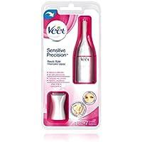 Dispositivo eléctrico para la depilación del rostro, axilas y zona bikini, Veet Sensitive Precision Beauty Styler
