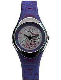 Omax Analog Purple Dial Children's Watch - KD117