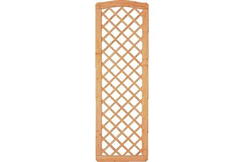 Sichtschutzzaun Holz Douglasie Rankgitter 60 x 180/183 cm (Serie: Doben)