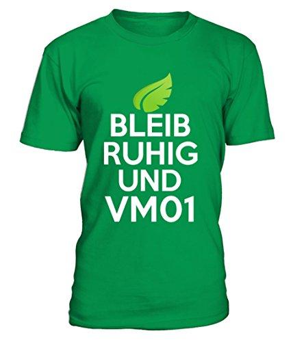 Bleib Ruhig und Vm01 T-Shirt Unisex (T-shirt Ruhigen Unisex Grünen)
